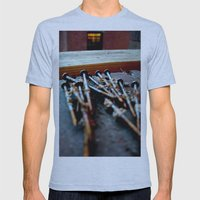 Nailed Mens Fitted Tee Athletic Blue SMALL
