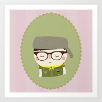 sam shakusky | moonrise kingdom Art Print