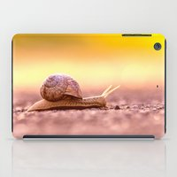 Snail shell Design iPad Case