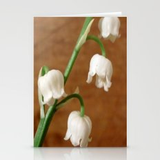 lily of the valley II Stationery Cards