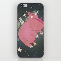 Super Horse... Unicorn Dreams. iPhone & iPod Skin