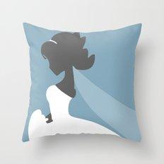 Bride's Day Throw Pillow