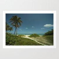 Varadero Paradise  Art Print