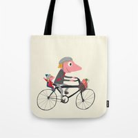 Biker Daddy Tote Bag