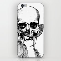 Skull of Time iPhone & iPod Skin