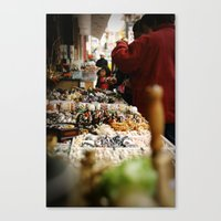 Marketplace Canvas Print