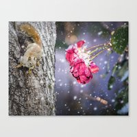 Let's hang in there together Canvas Print