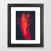 unveil Framed Art Print