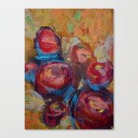 Flower Series  Canvas Print