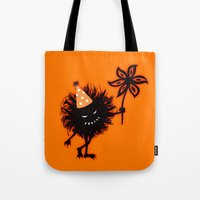 Evil Bug Halloween Party Tote Bag