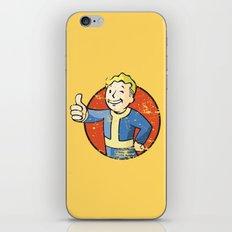 Fallout Vault boy iPhone & iPod Skin