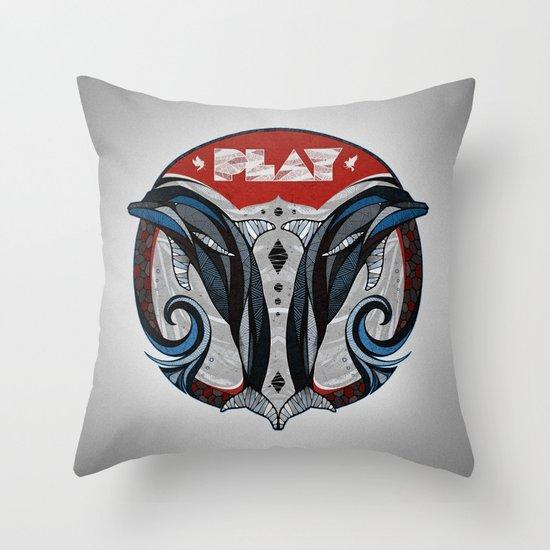 Play Throw Pillow