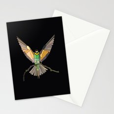 Bird Ripple  Stationery Cards