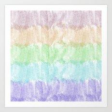 Glitter Rainbow Art Print