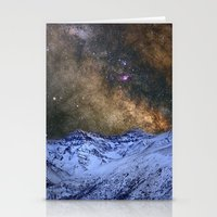 The Milky Way Over The H… Stationery Cards