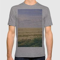 How Far You Can See? Mens Fitted Tee Athletic Grey SMALL