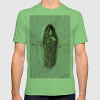 GREEN-1 Mens Fitted Tee Grass SMALL