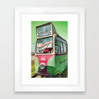 496 Framed Art Print