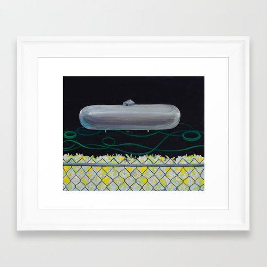 Greener Grass Framed Art Print