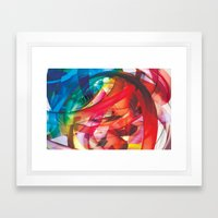 Clusters on mind #1 Framed Art Print