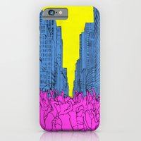 iPhone & iPod Case featuring living for the city by illustrious state