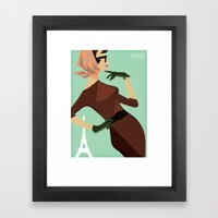 Paris 1960 Framed Art Print