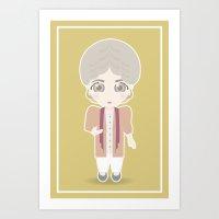 Girls In Their Golden Ye… Art Print
