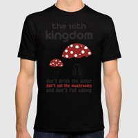 The 10th Kingdom: The Mushrooms Mens Fitted Tee Black SMALL