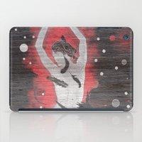 Nude On Black iPad Case