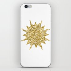 Mosaic Sun iPhone & iPod Skin
