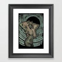 Zombie Siren Framed Art Print