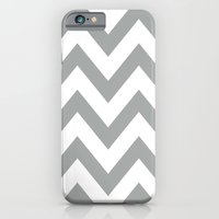 Gray Chevron iPhone 6 Slim Case