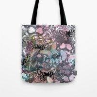 Watercolour butterflies Tote Bag