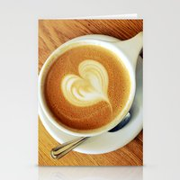 A Warm Cup Of Love Stationery Cards