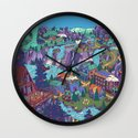 Try Not to Step on Anything This Time Wall Clock