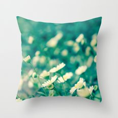 Looking at the sun Throw Pillow