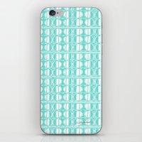 Aqua Dot iPhone & iPod Skin