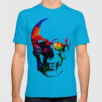 I live inside your face Mens Fitted Tee Teal SMALL