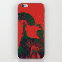 Geisha Snow iPhone & iPod Skin