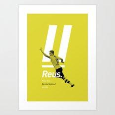 Reus Dortmund Art Print