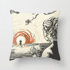 Once, I Hated the Sun Throw Pillow