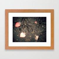 The Heart of Winter Framed Art Print