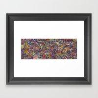 The Scroll: 66 Days Late… Framed Art Print