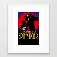 Spiff N Tiger Framed Art Print