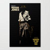 Indiana Jones: Raiders O… Canvas Print