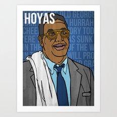 John Thompson (Georgetown Hoyas) Art Print