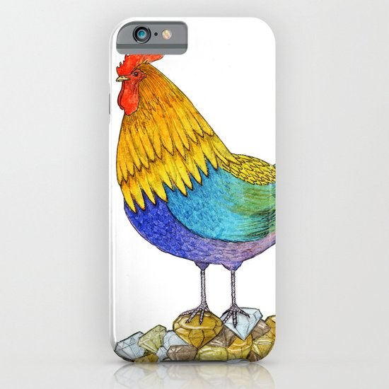 The Cockerel and The Jewel iPhone & iPod Case