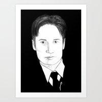 the believer Art Print