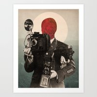 Solar Lens Art Print