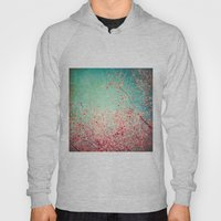 Blue Autumn, Pink Leafs … Hoody
